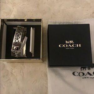 NWT | Coach | Boxed Signature Bangle